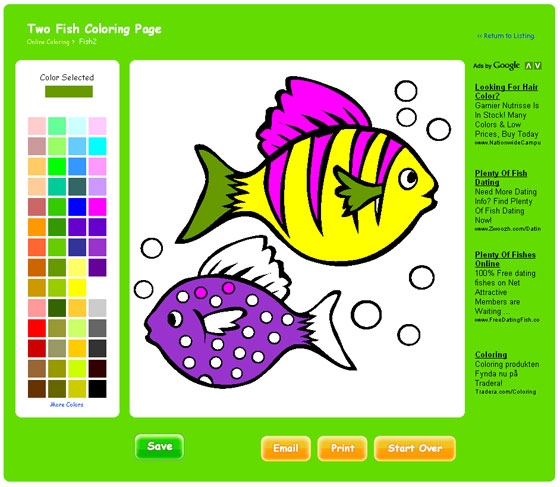 Free Online Coloring Pages On Thecolor.com | Kids Software