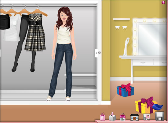 Virtual Designing Clothes Games A Stardoll paperdoll looking