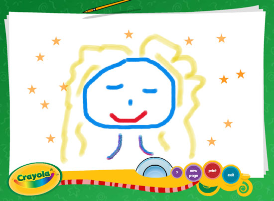 crayola trace and draw projector instructions