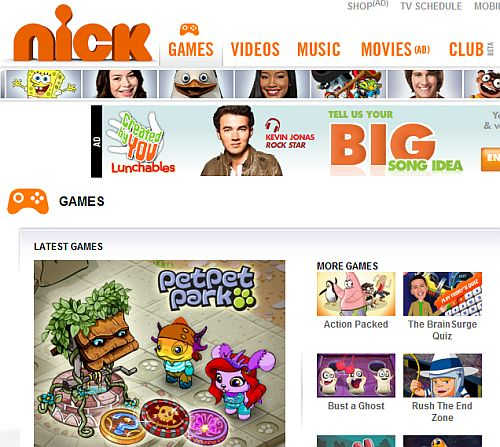 Go on adventures solve puzzles or create your own game at nick games